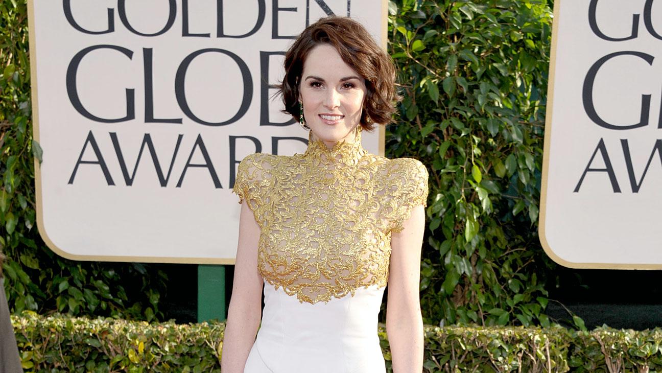 Michelle Dockery Golden Globes Two - H 2014