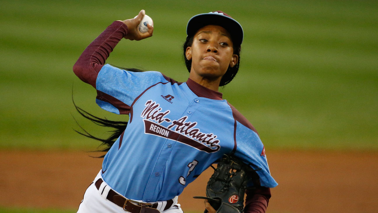 Mo'ne Davis Little League World Series - H 2014