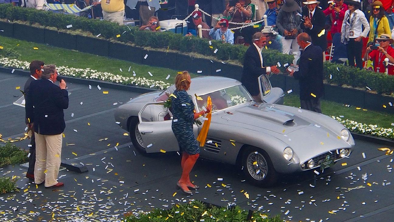 Rare Ferrari Wins Best of Show at Concours d'Elegance - H 2014