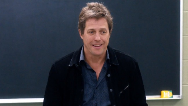 The Rewrite Hugh Grant - H 2014