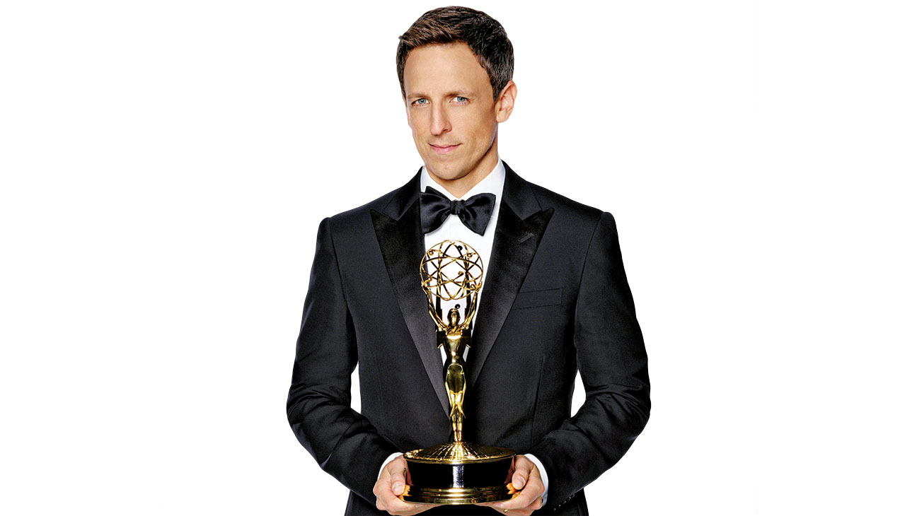 Seth Meyers Hosting the Emmys - H 2014