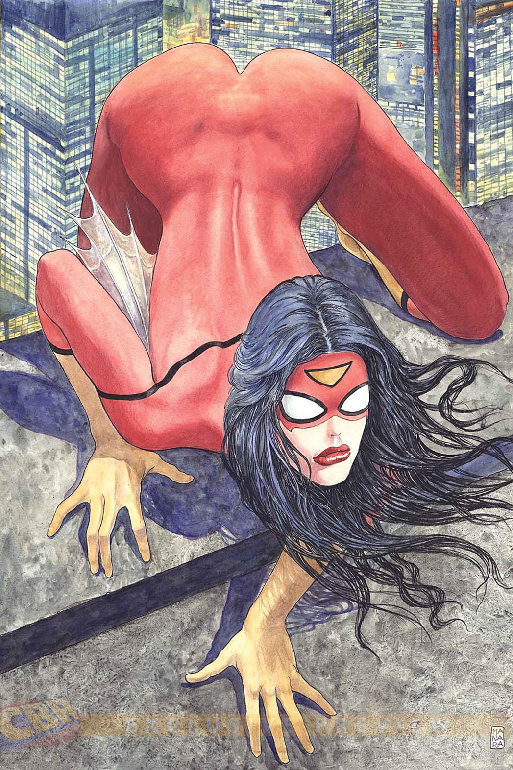 Spider Woman Manara - P 2014