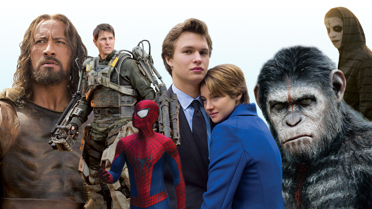 Summer Movies Top 20 - H 2014