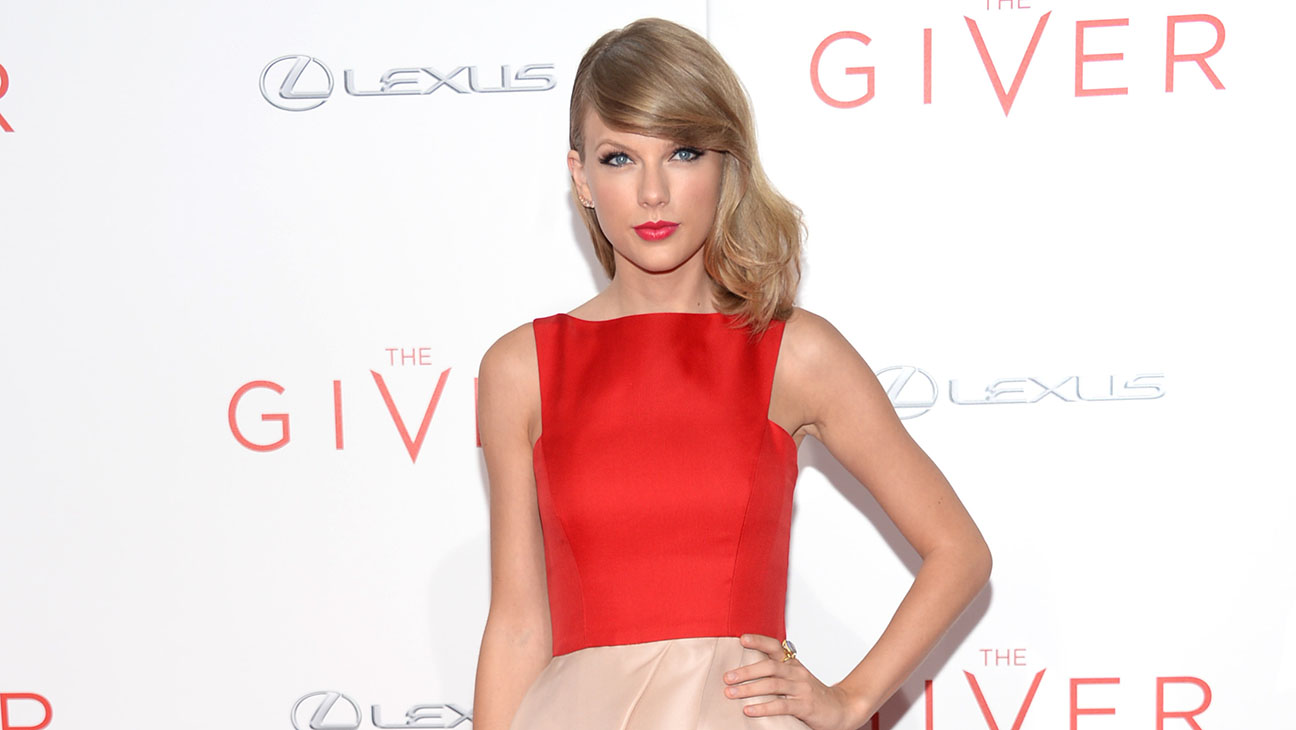 Taylor Swift The Giver Premiere - H 2014