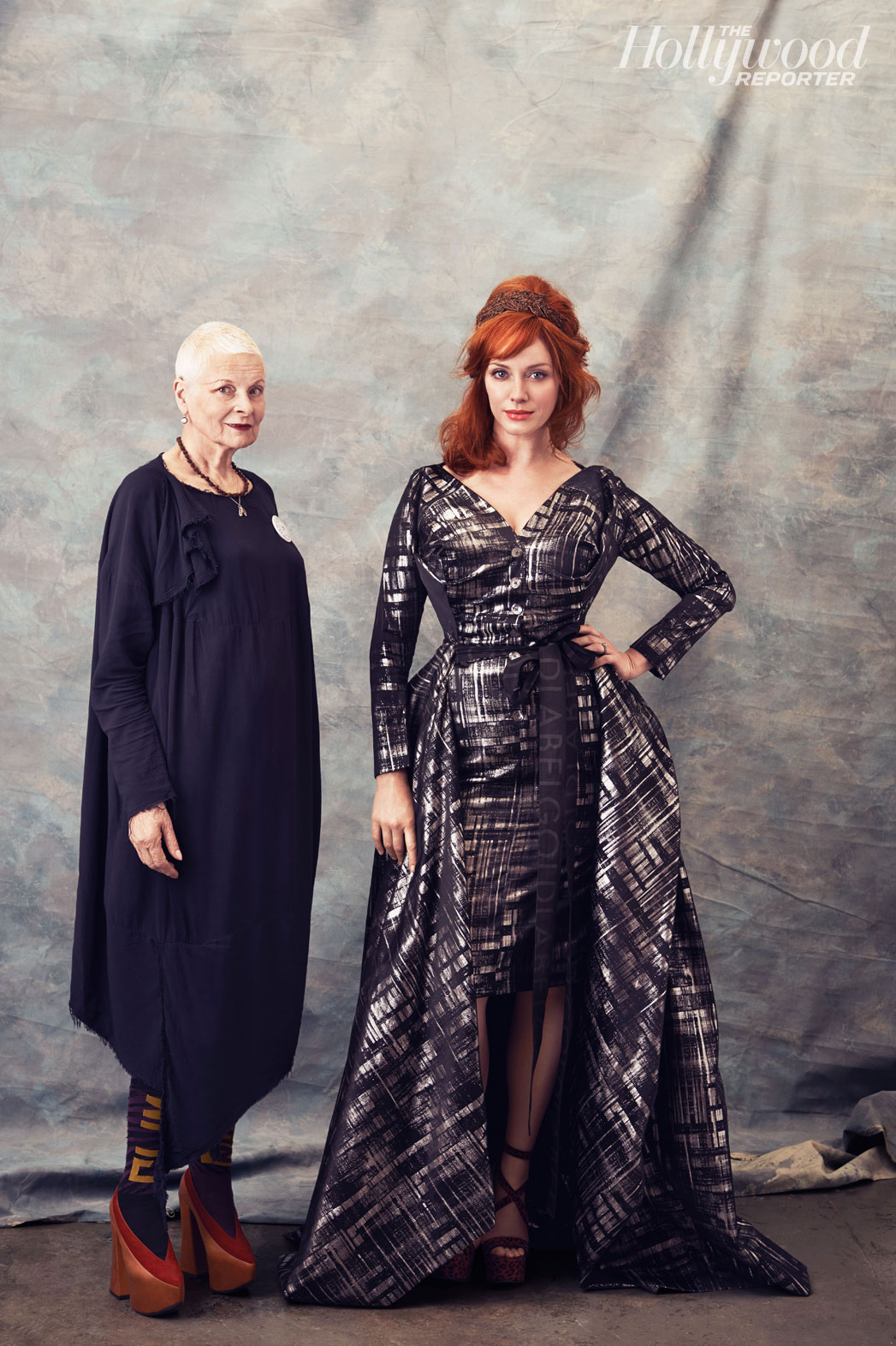 Vivienne Westwood and Christina Hendricks