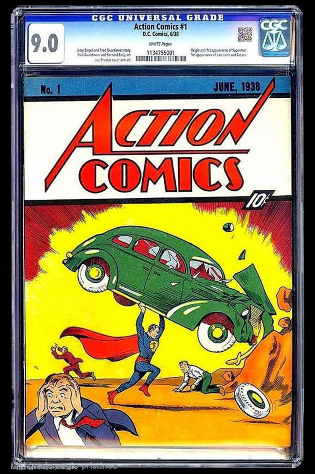 Action Comics Number One Mint Copy 9.0 - P 2014