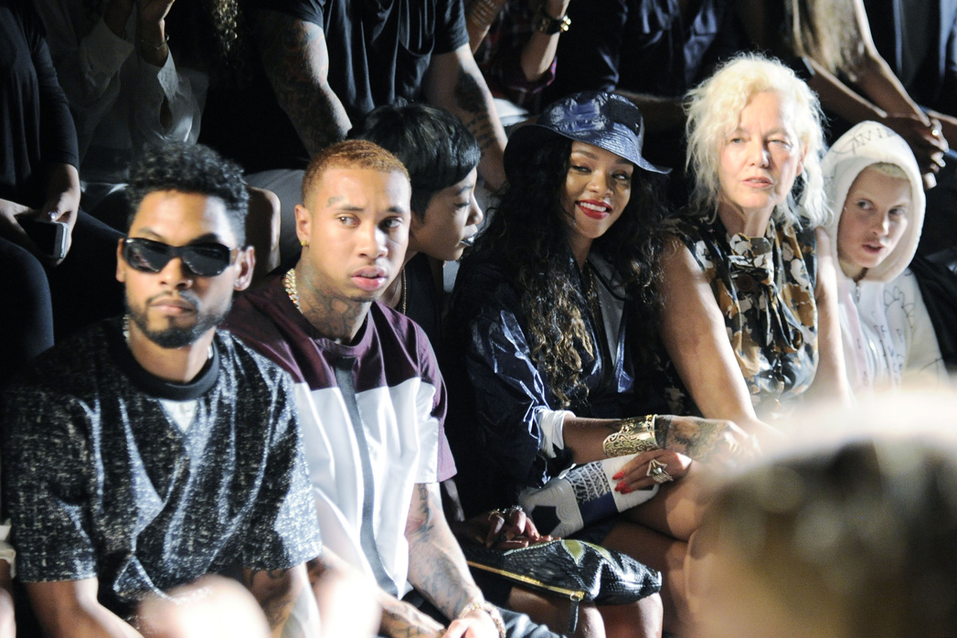 Miguel and Tyga Fashion Week —H 2014