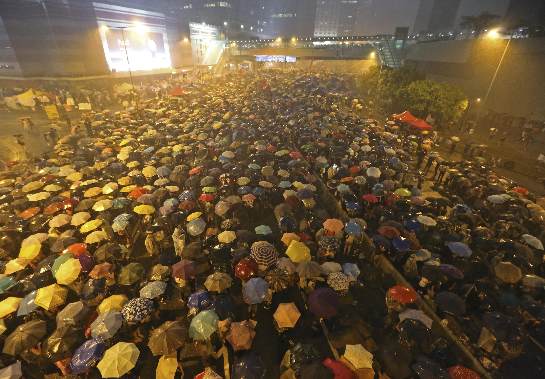 Hong Kong Umbrella Revolution H 2014