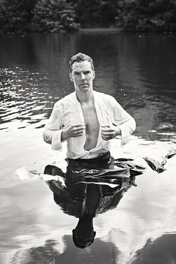 Benedict Cumberbatch Give up Clothes for Good Campaign - P 2014