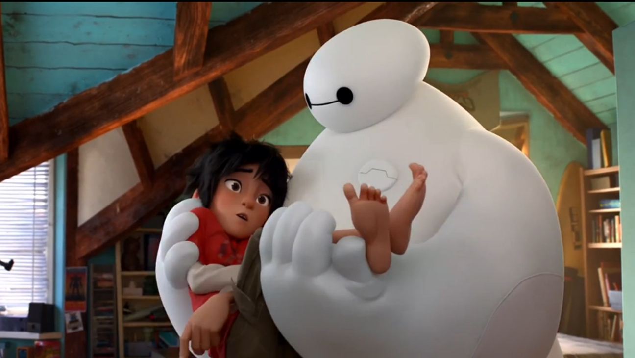 Big Hero 6 Baymax Hiro H 2014