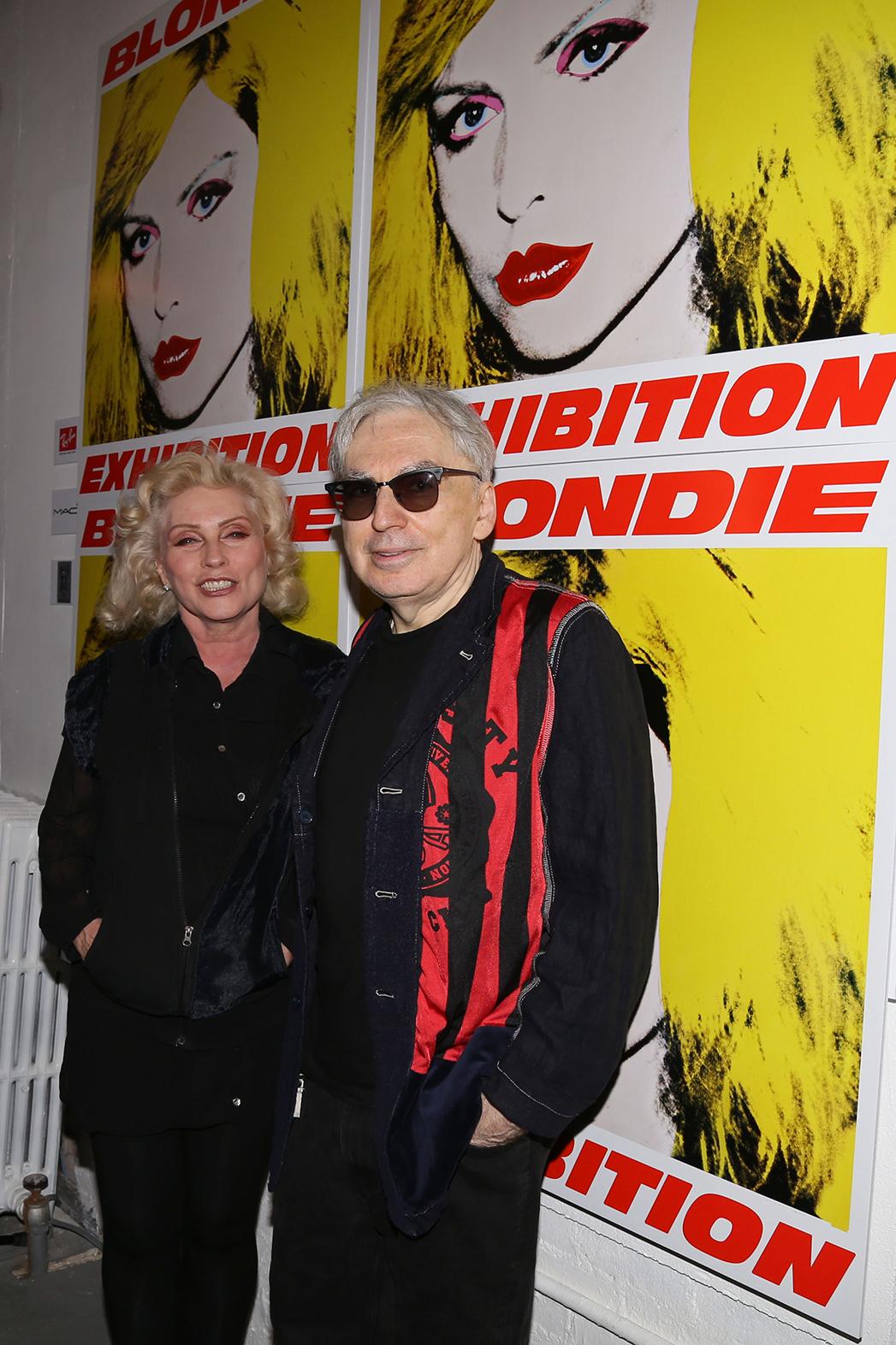 Blondie Debbie Harry Chris Stein P 2014