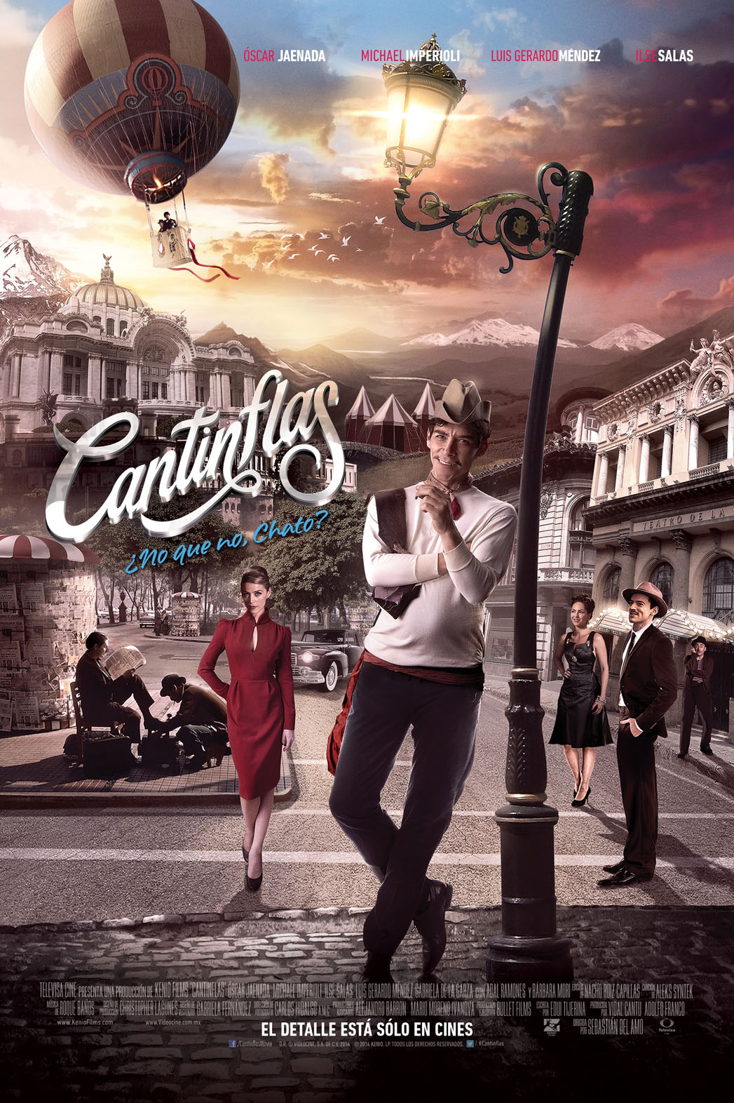 Cantinflas Poster Art - P 2014