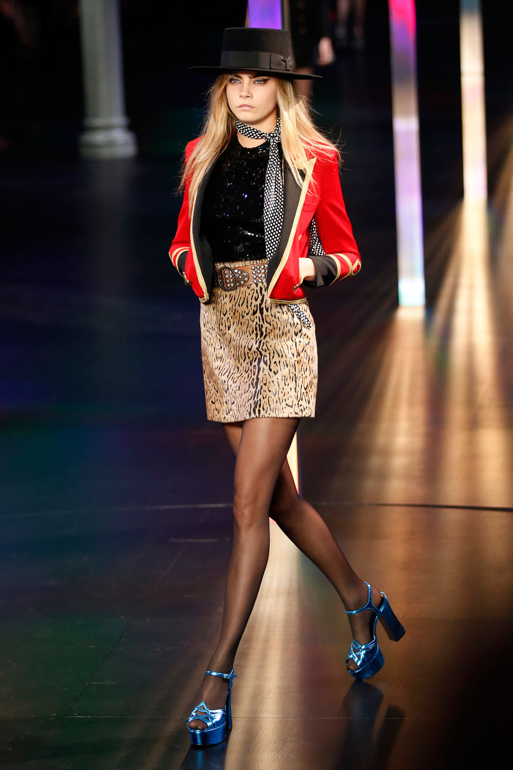 Cara Delevingne Saint Laurent Paris - P 2014