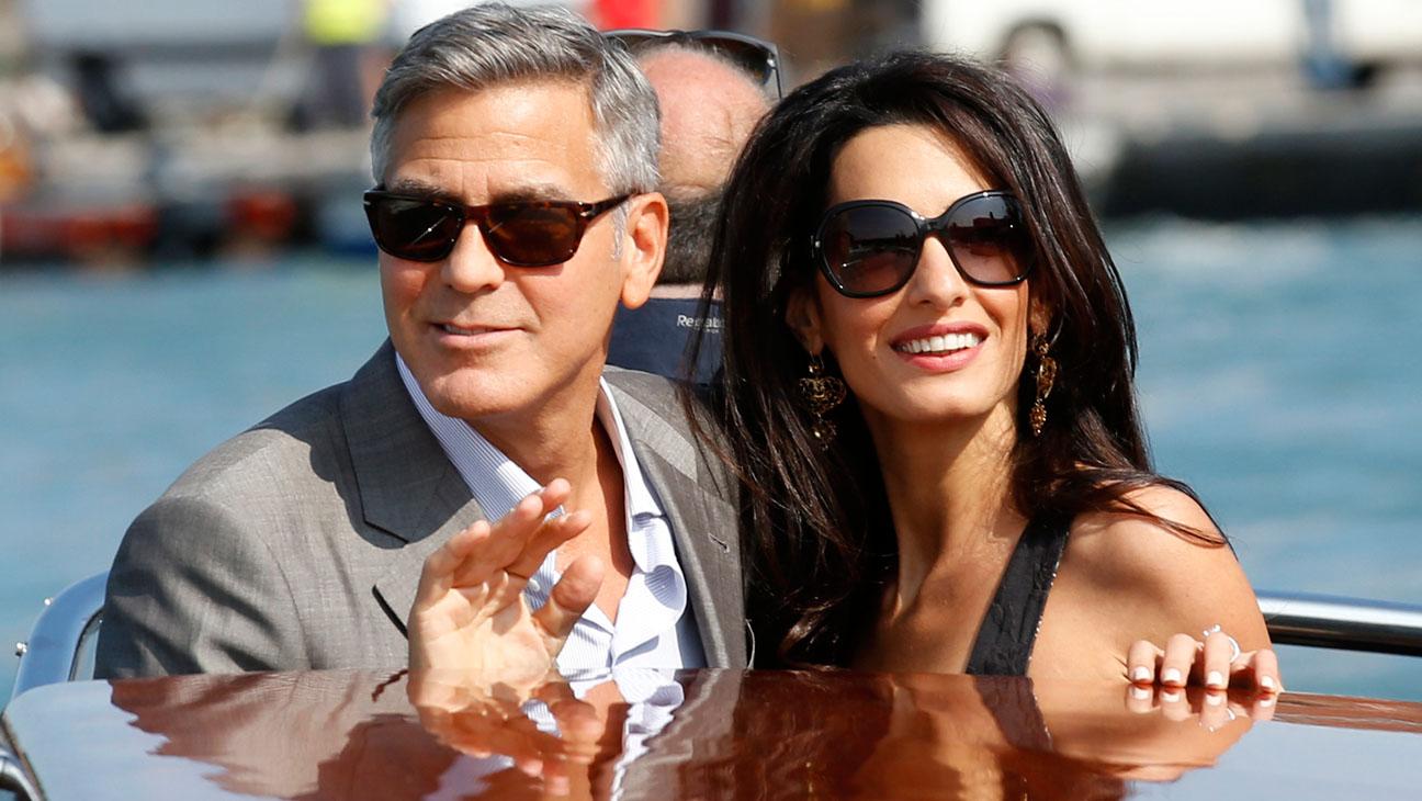 Clooney Alamuddin Venice - H 2014