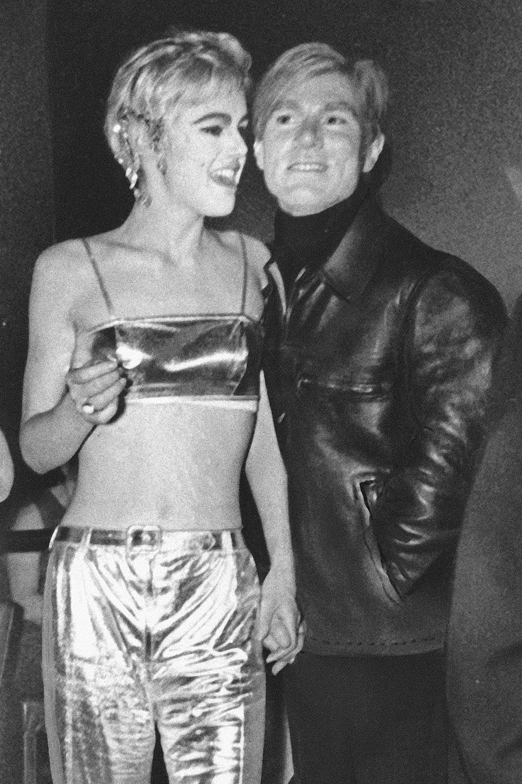 Edie Sedgwick and Andy Warhol - P 2014