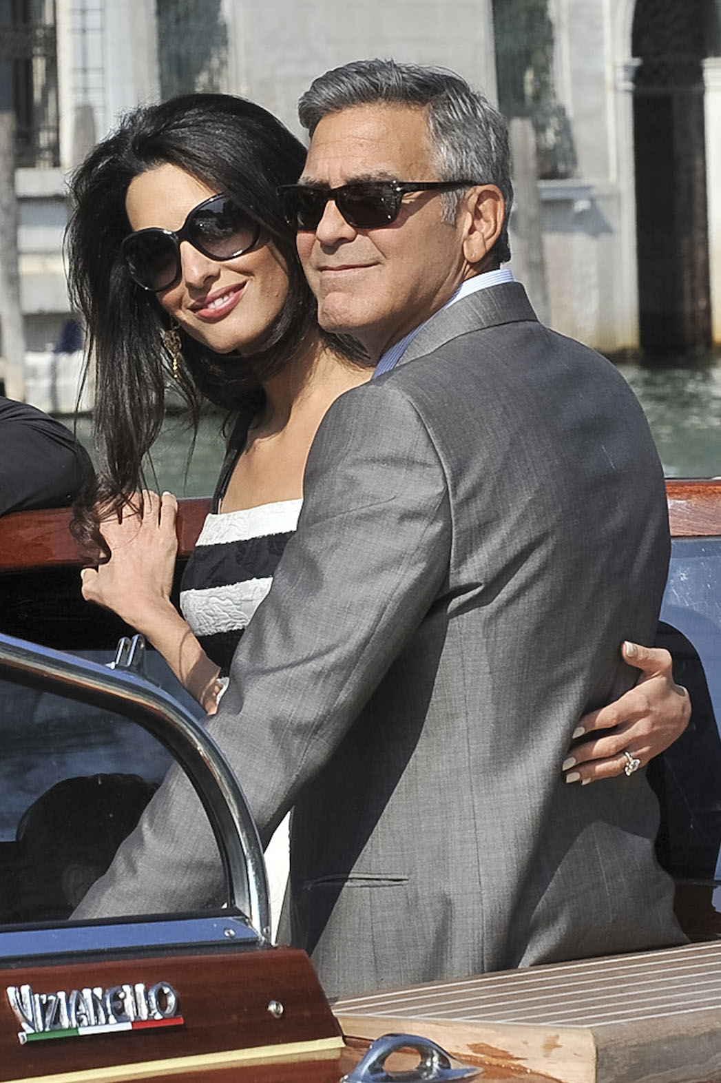 George Clooney Amal Alamuddin Venice - P 2014