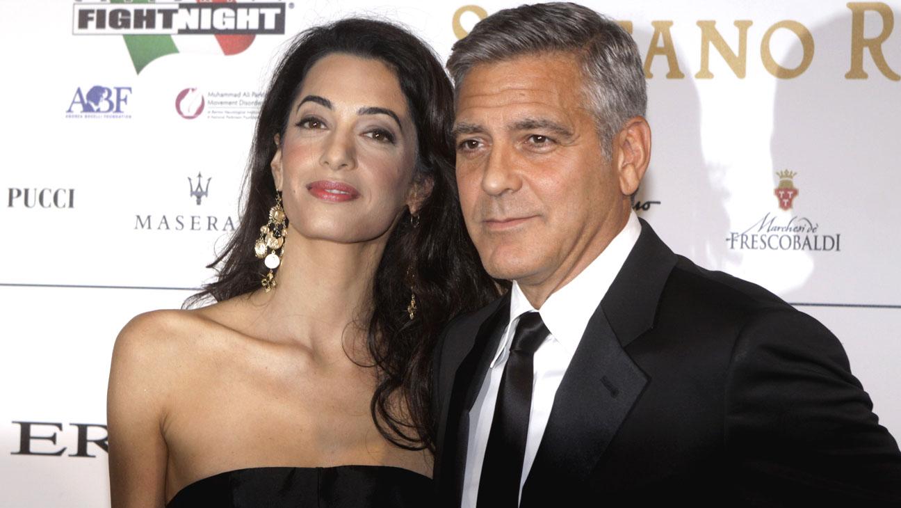 George Clooney Amal Alamuddin - H 2014