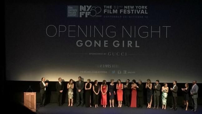 Gone Girl NYFF Opening Night - H 2014
