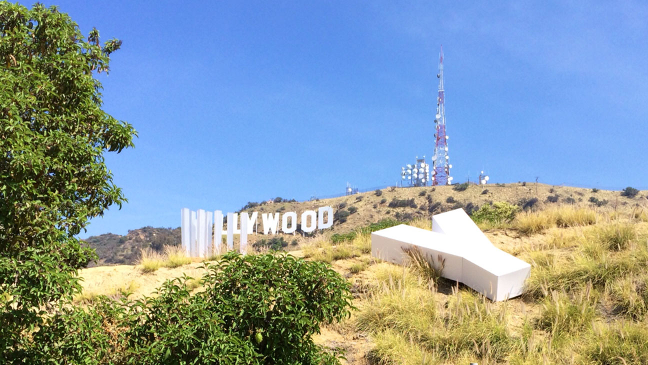 Hollywood Sign Concept Art - H 2014