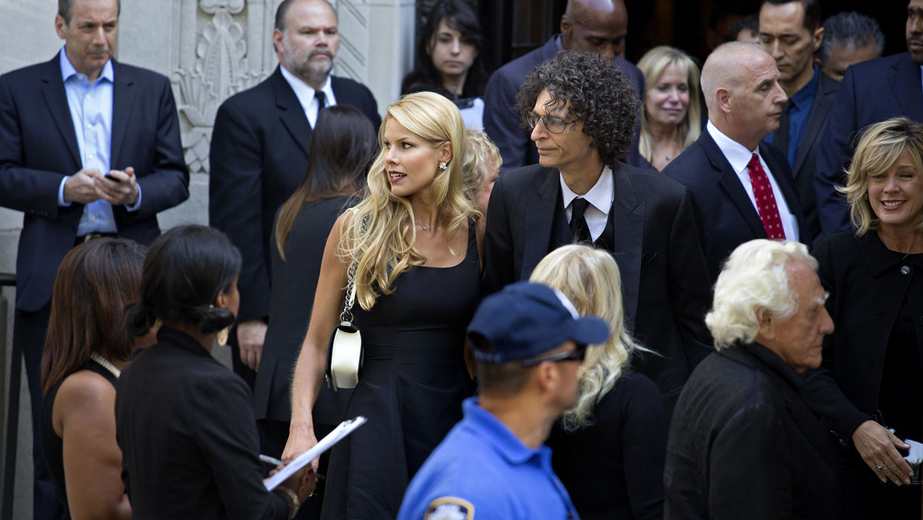 Howard Stern Joan Rivers Funeral - H 2014