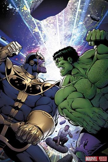 Hulk vs Thanos - P 2014