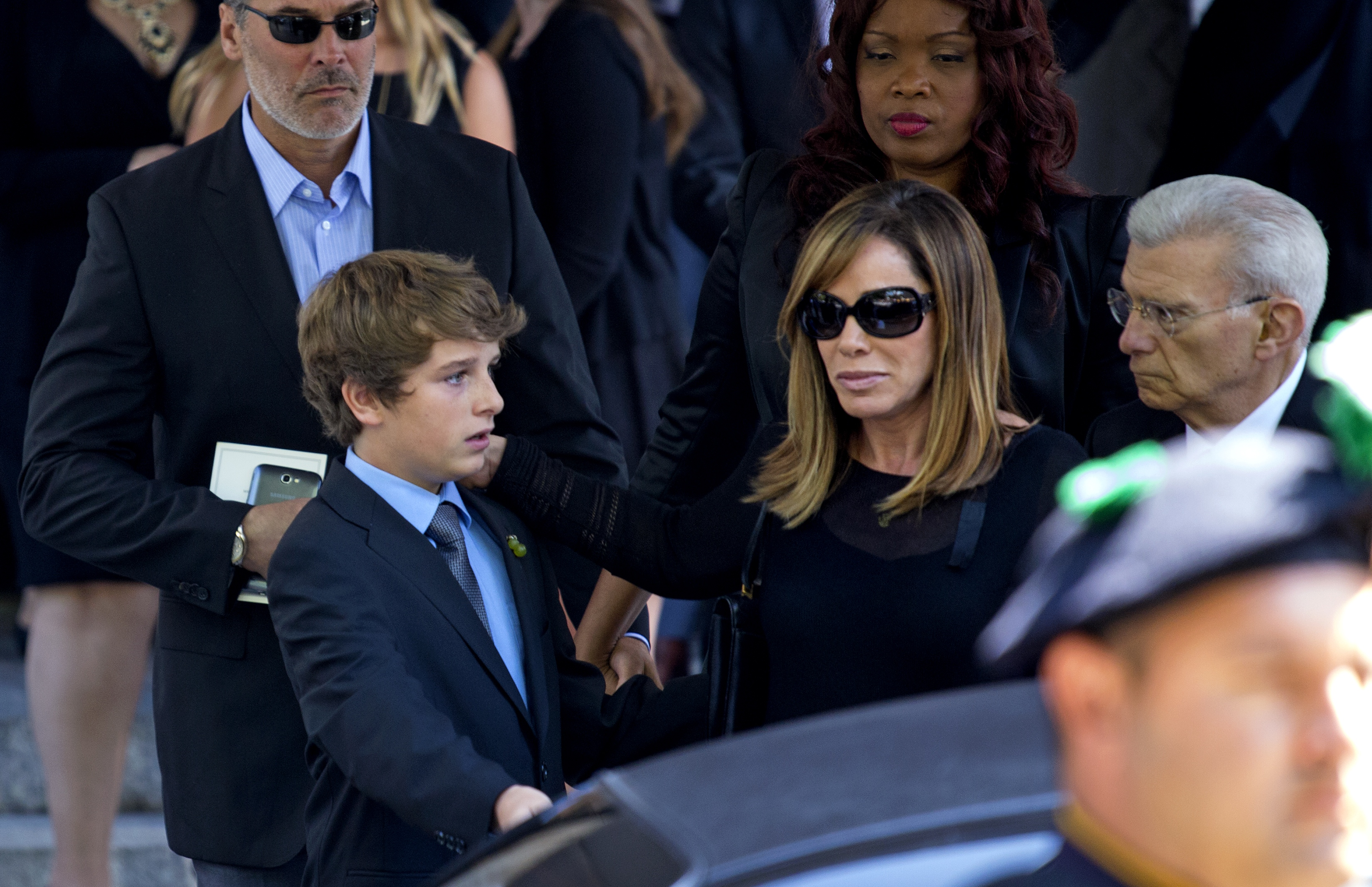 Melissa Rivers at Joan Rivers' Funeral - H 2014