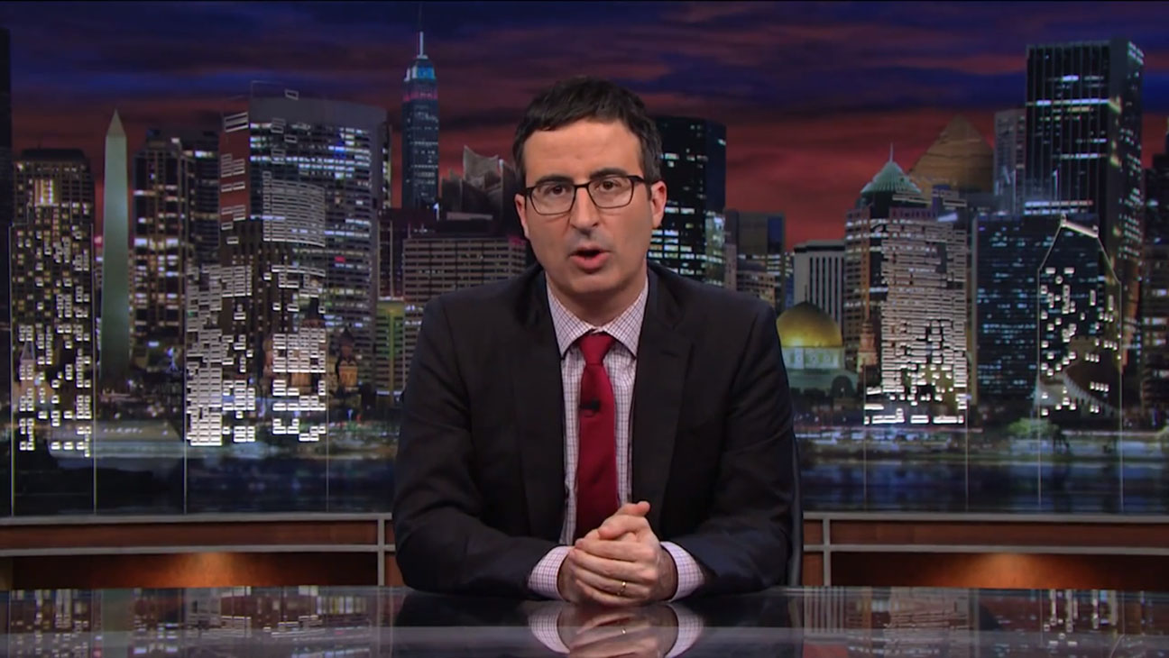 John Oliver Last Week Tonight Fan Mail - H 2014