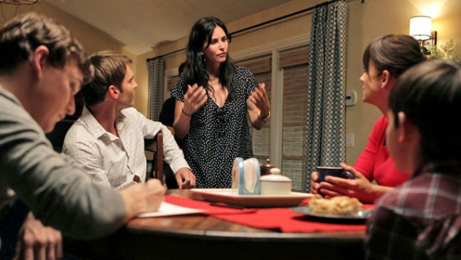 Courteney Cox Directs Just Before I Go - H 2014