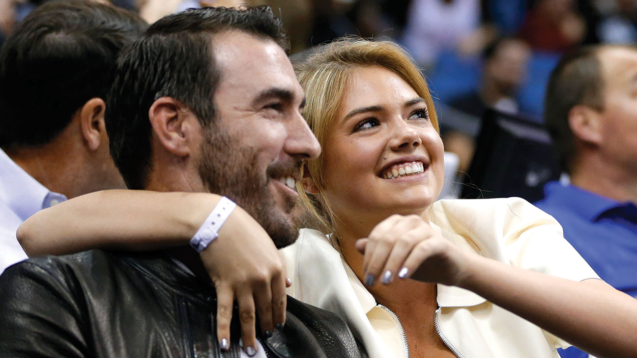 Kate Upton and Man - H 2014