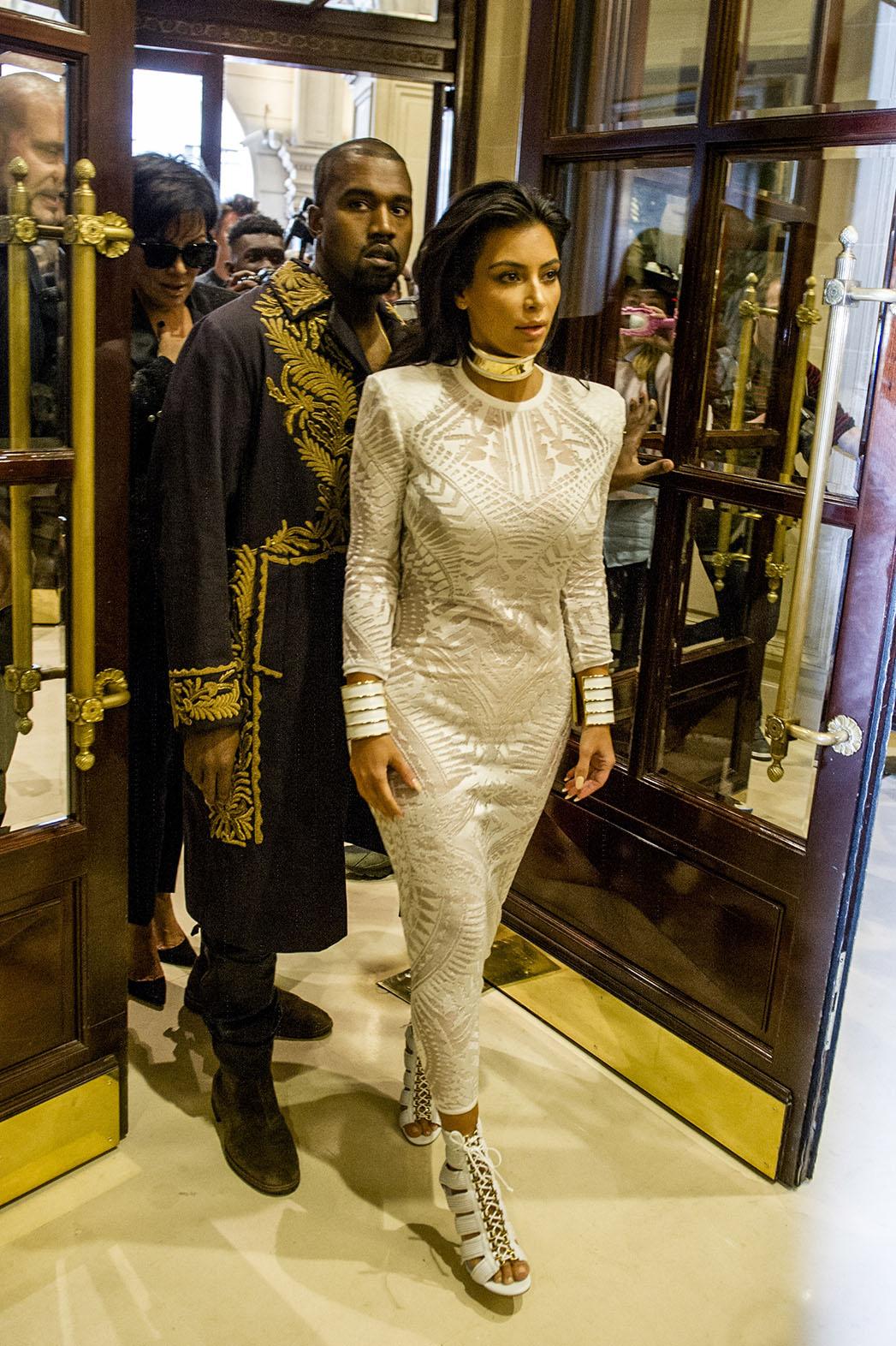 Kim Kardashian Paris Fashion Week - P 2014