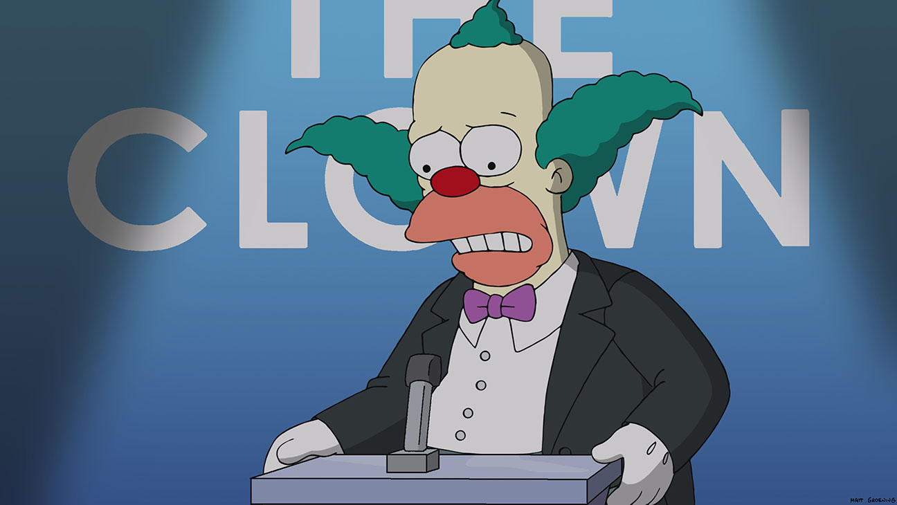 The Simpsons Krusty the Clown - H 2014