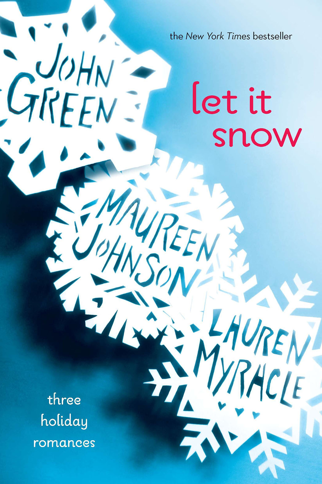 Let It Snow: Three Holiday Romances Book Cover - P 2014