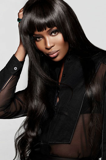 Naomi Campbell The Face AU Headshot - P 2014