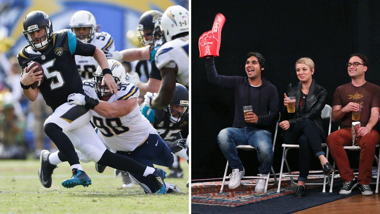 NFL Game The Big Bang Theory Split - H 2014