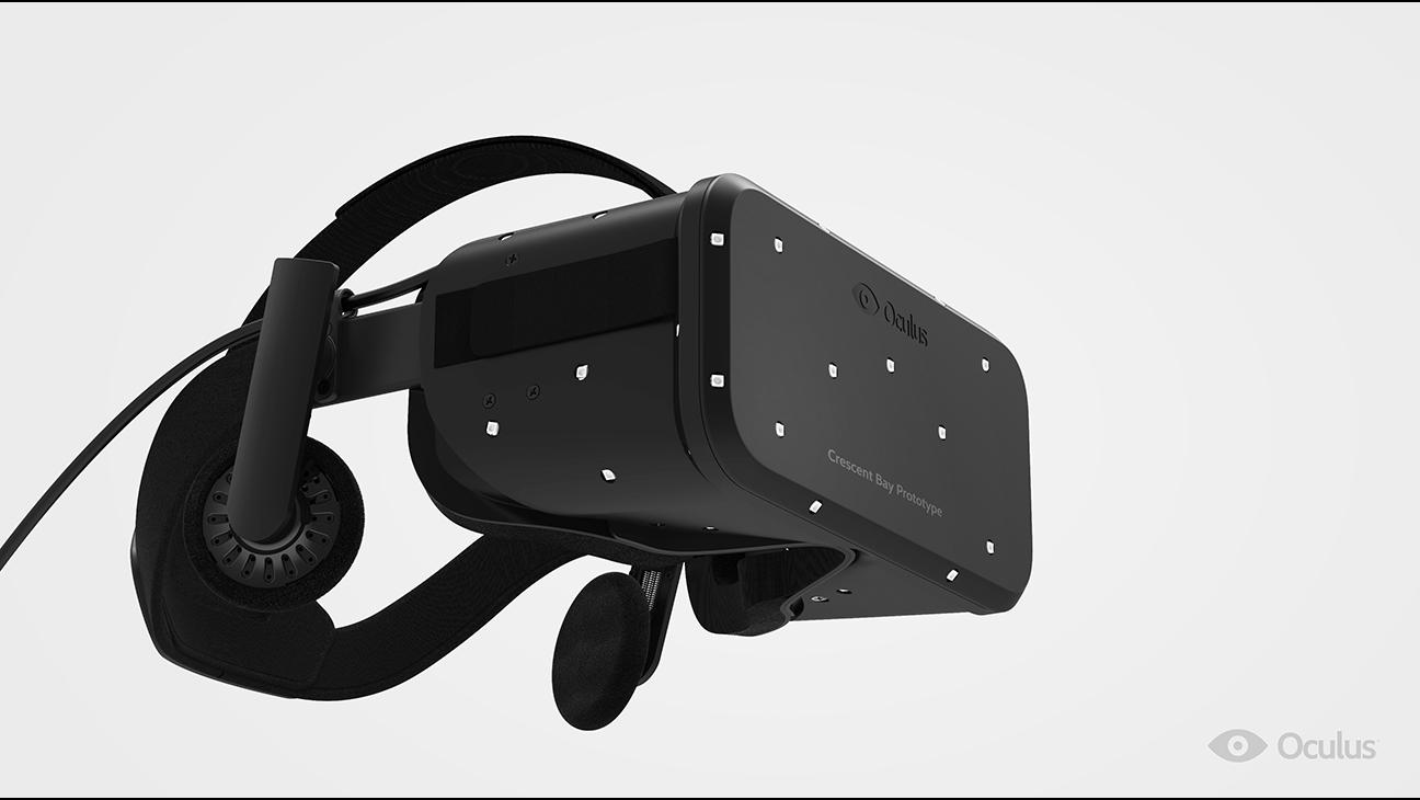 Oculus Crescent Bay prototype - H 2014