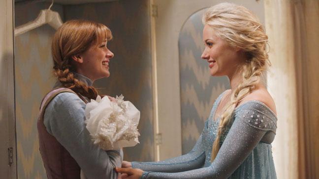 Once Upon a Time Season 4 Premiere Elsa Anna - H 2014