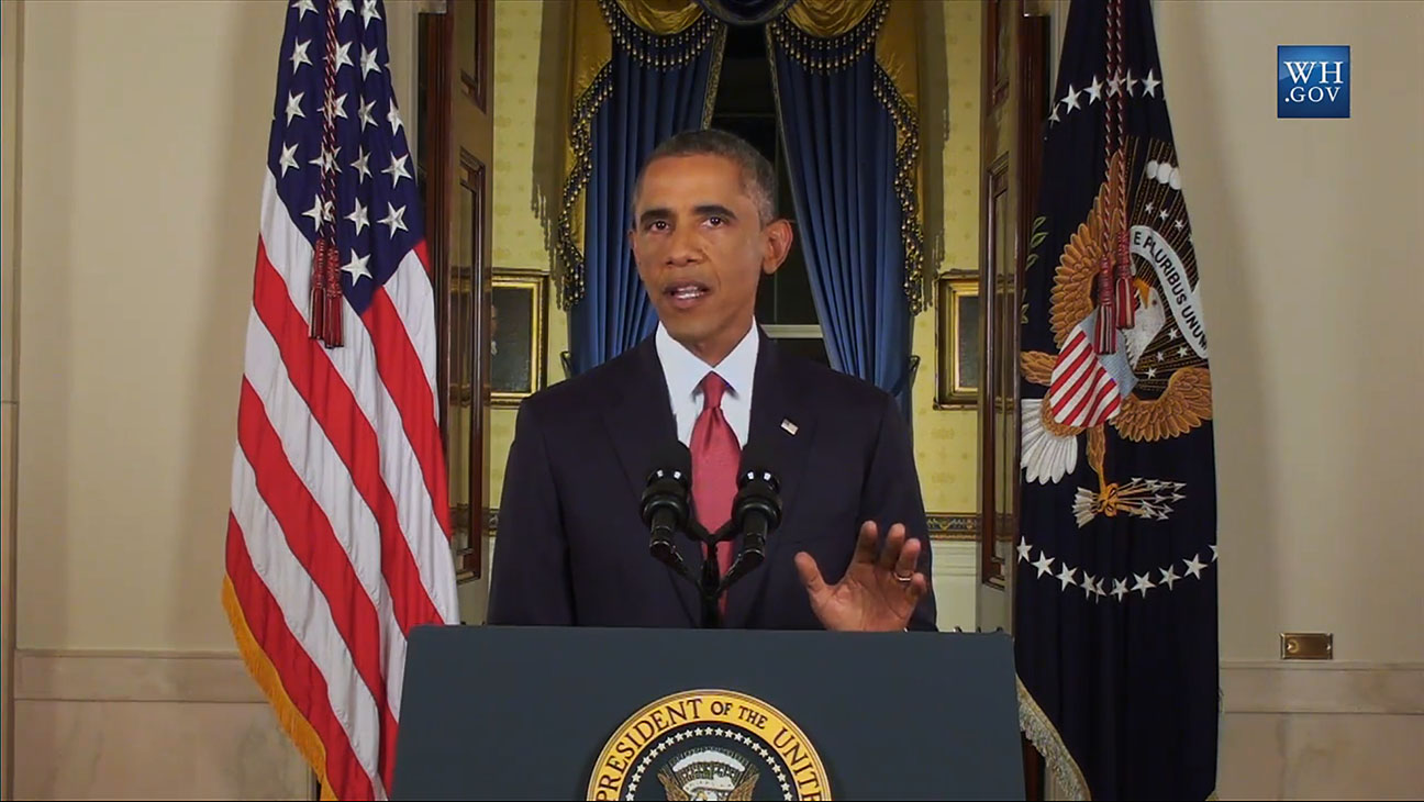 President Obama Live ISIL Speech - H 2014