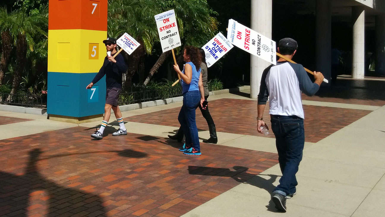Shahs of Sunset Picket Line - H 2014