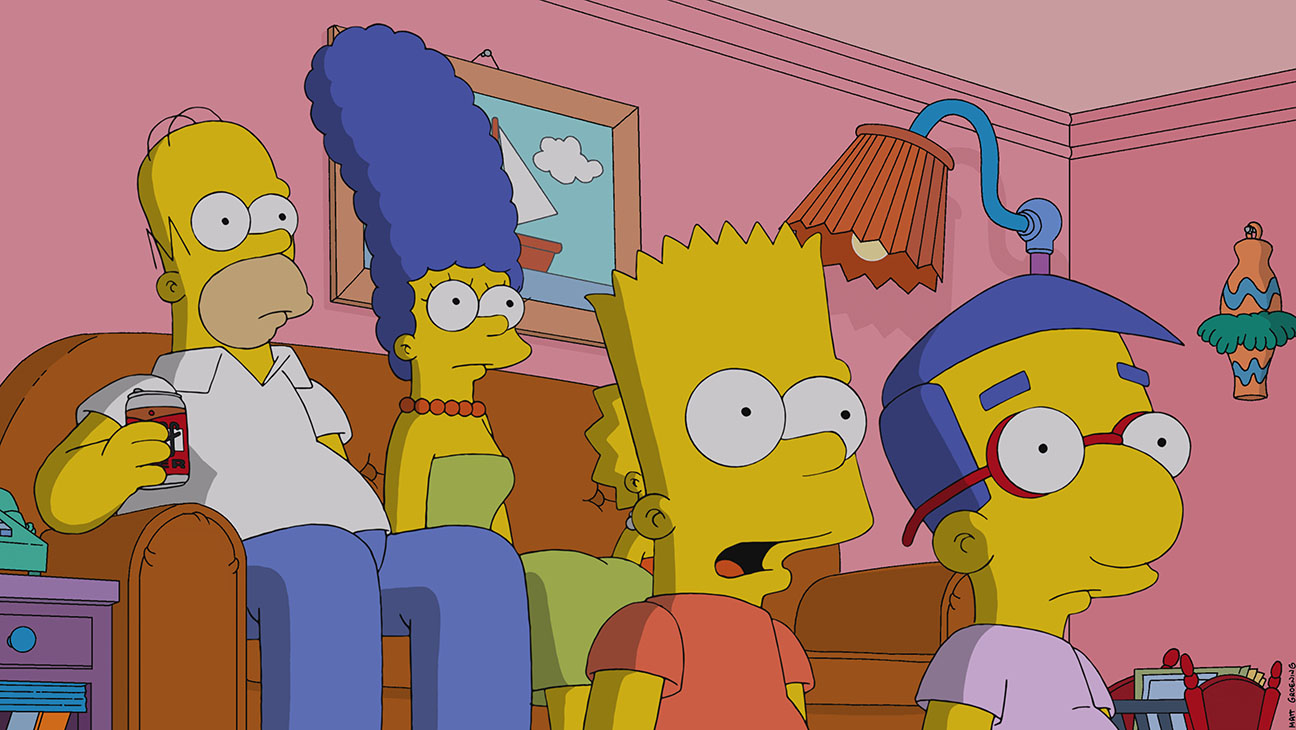 The Simpsons Family with Milhouse - H 2014