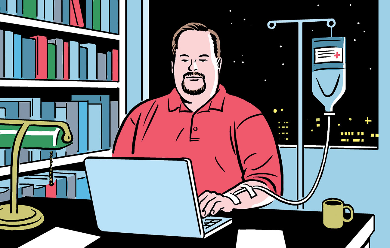 How to Have Cancer and Work in Hollywood Illo - H 2014