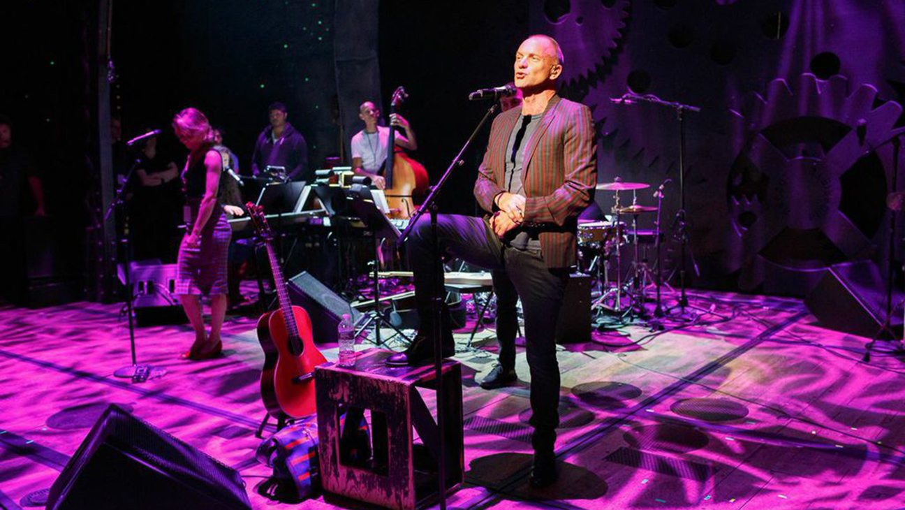 Sting Uprising of Love Concert H 2014