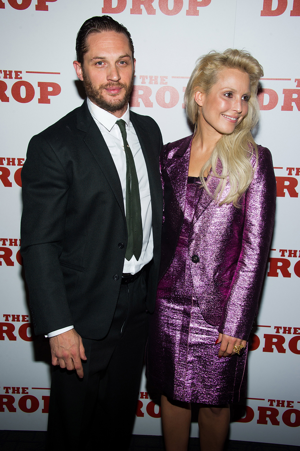 Tom Hardy Noomi Rapace The Drop Premiere P 2014