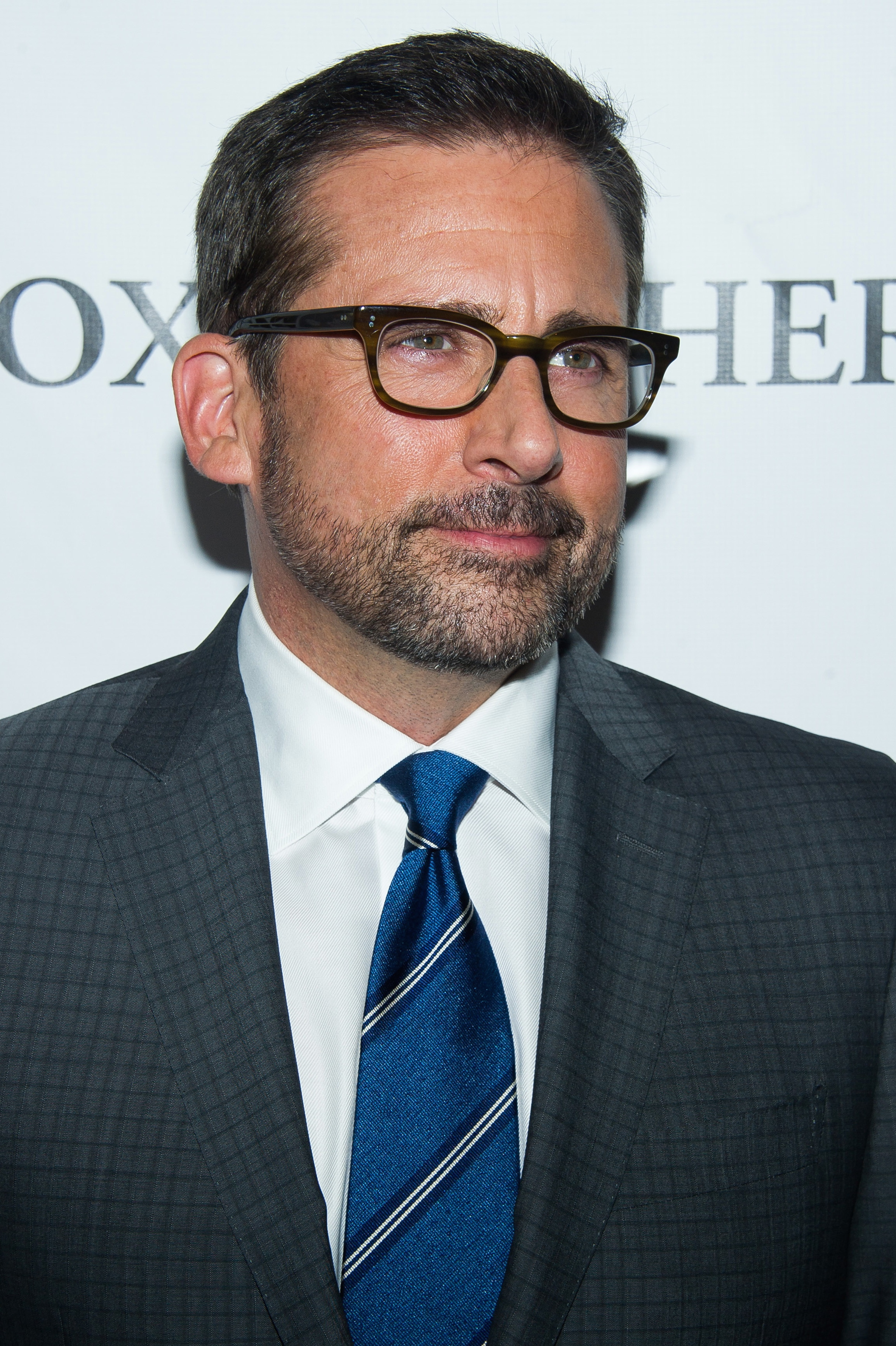 Steve Carell at NYFF 'Foxcatcher' Screening - P 2014