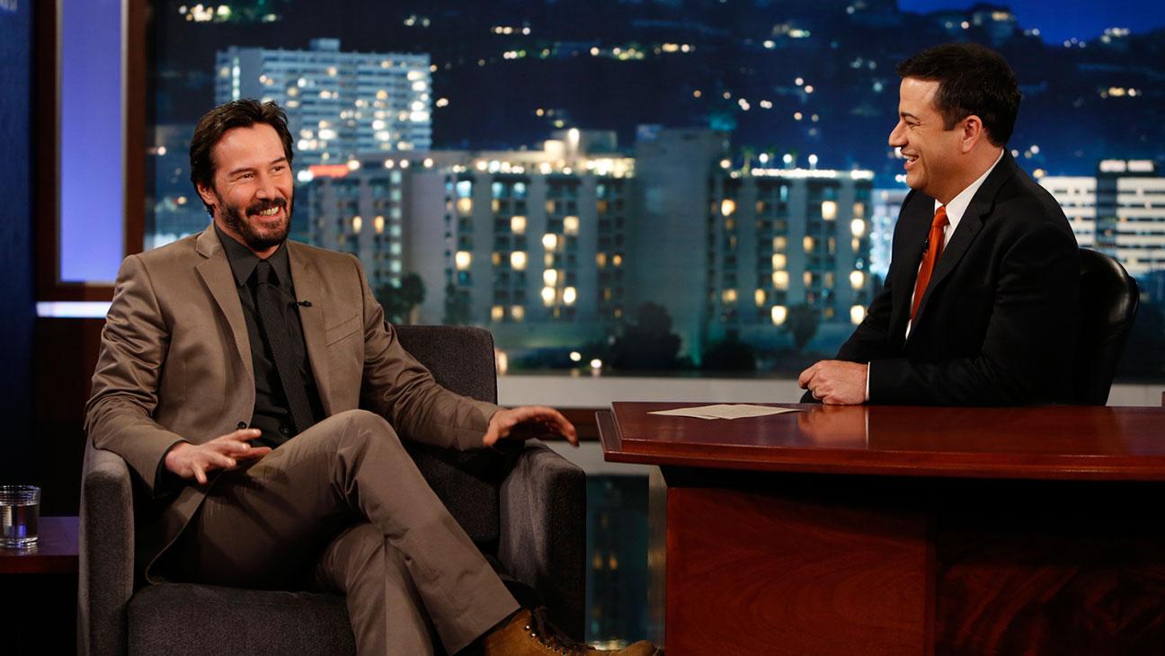 Keanu Reeves Jimmy Kimmel - H 2014