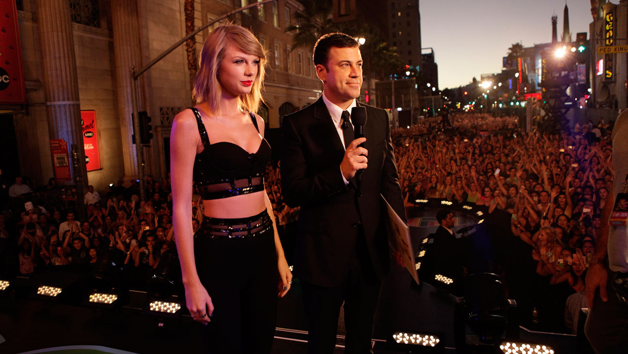 Taylor Swift Jimmy Kimmel - H 2014