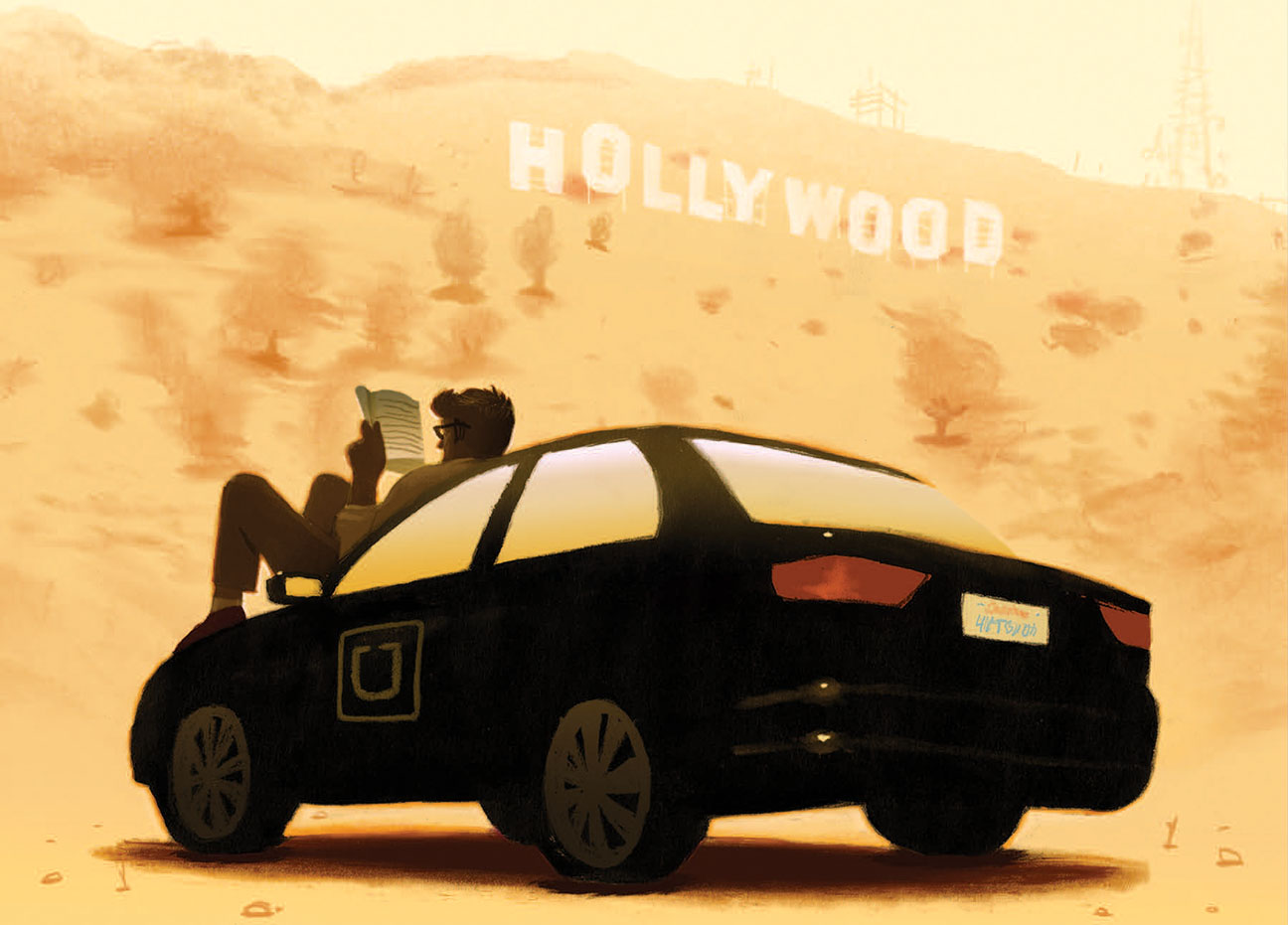 Uber Actor Illo - H 2014