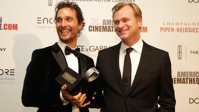 Matthew McConaughey Chris Nolan H 2014