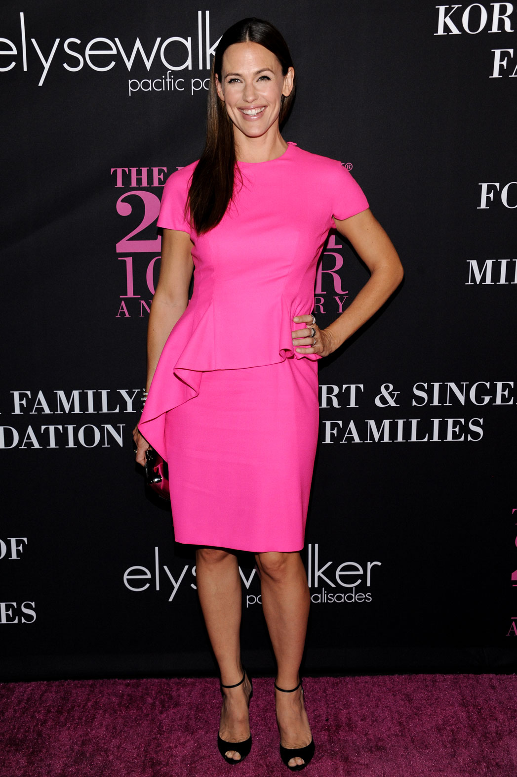 Jennifer Garner Pink Party - P 2014