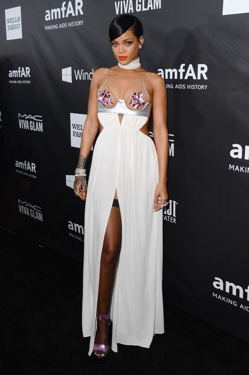 Rihanna amfAR L.A. Gala - P 2014
