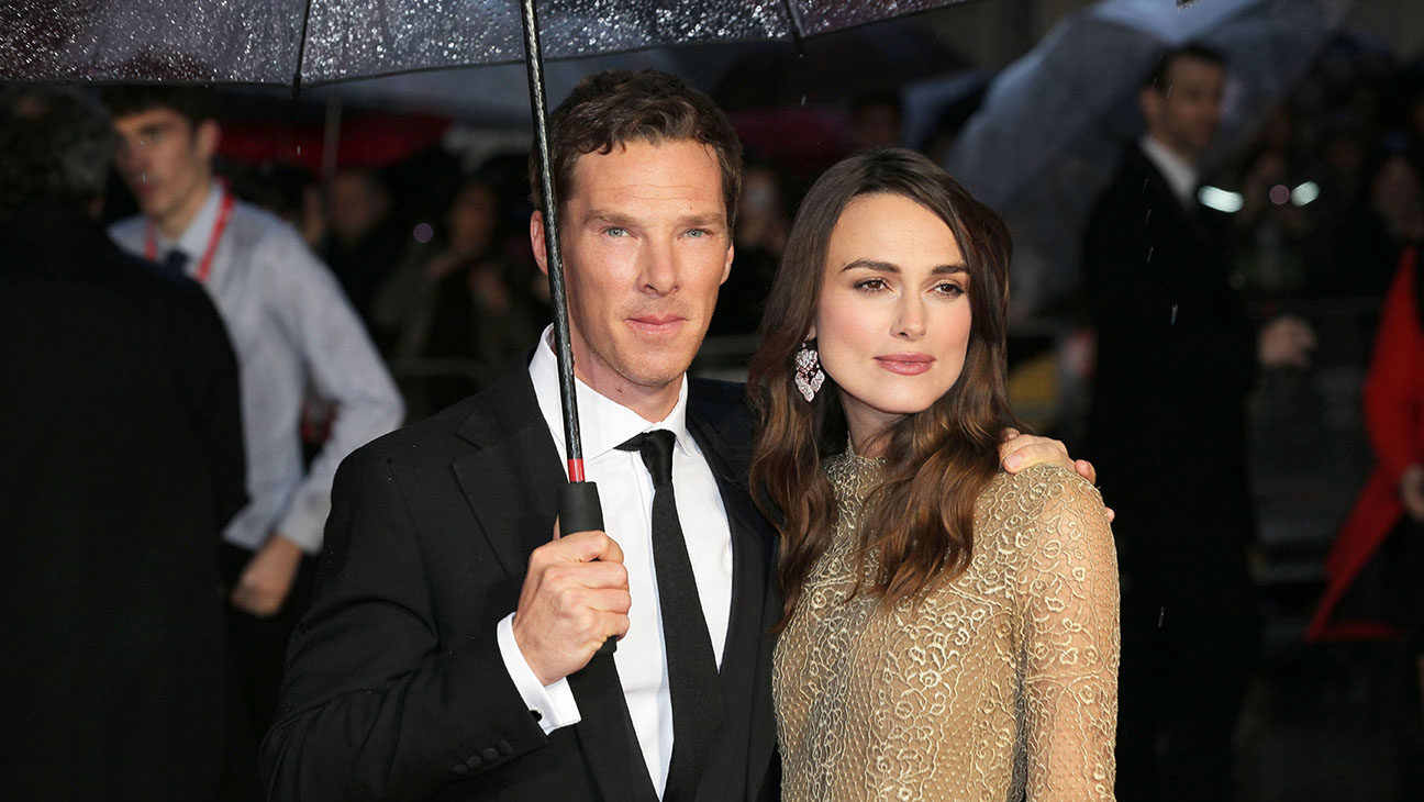 Benedict Cumberbatch and Keira Knightley The Imitation Game Premiere - H 2014